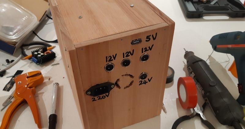 The UPS box